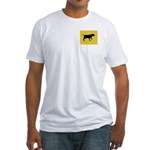 Blackmouth Cur iPet Fitted T-Shirt