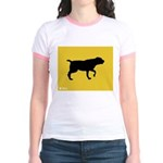 Blackmouth Cur iPet Jr. Ringer T-Shirt