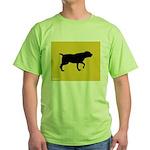 Blackmouth Cur iPet Green T-Shirt