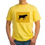 Blackmouth Cur iPet Yellow T-Shirt
