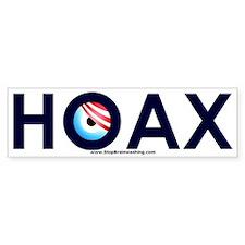 Obama Hoax Bumper Sticker