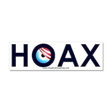 Obama Hoax Car Magnet 10 x 3