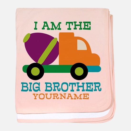 Cement Mixer Big Brother baby blanket