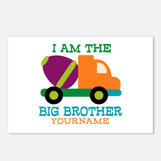 Cement Mixer Big Brother Postcards (Package of 8)