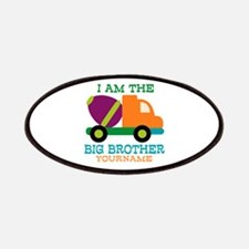 Cement Mixer Big Brother Patches
