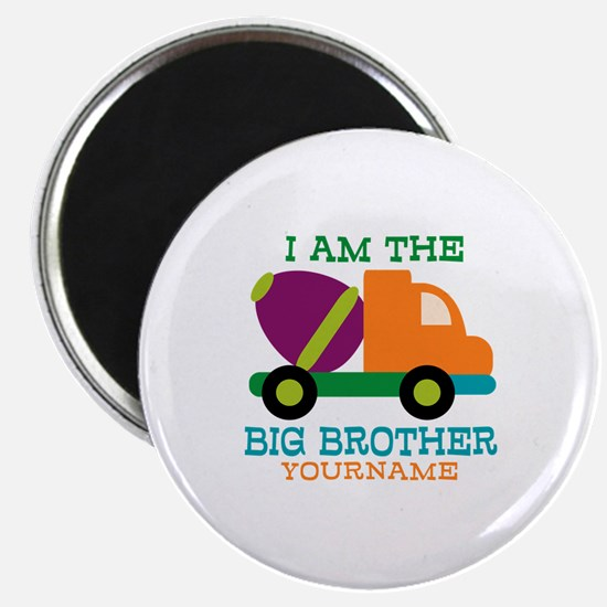 Cement Mixer Big Brother Magnet