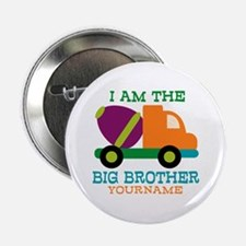 "Cement Mixer Big Brother 2.25"" Button (100 pack)"
