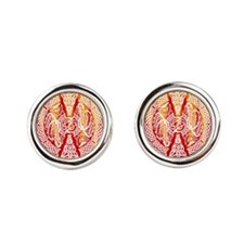 Celtic Dragons Fire Cufflinks