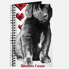 Newfy Puppy Pawprints Journal