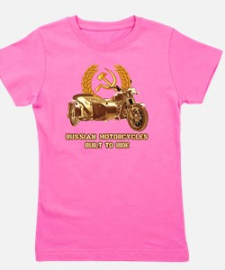 Russian motorcycles built to ride Girl's Tee