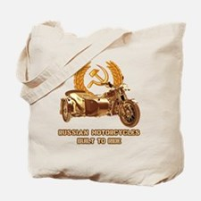 Russian motorcycles built to ride Tote Bag
