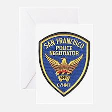 SFPD Negotiator Greeting Cards (Pk of 10)