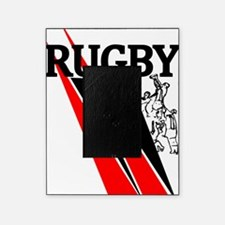 Rugby Line Out Red Black Picture Frame