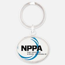 NPPA Logo Oval Keychain