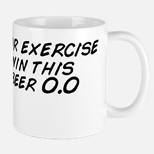 Alcohol or exercise... you win this rou Mug
