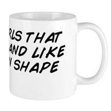 I love girls that workout and like to s Mug