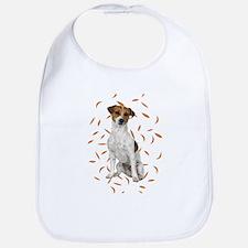 Jack Russell Terrier Baby Bib