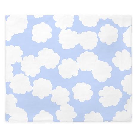 Cloud Pattern. King Duvet