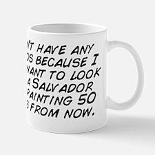 I don't have any tattoos because I Mug