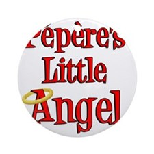 Peperes Little Angel Round Ornament