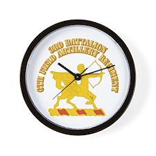 DUI - 3rd Battalion,6th Field Artillery Regiment w