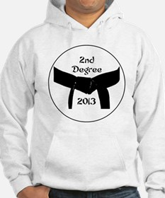 Martial Arts 2nd Degree Black Be Hoodie