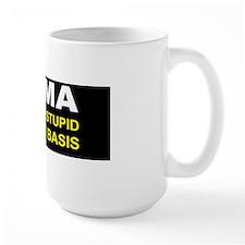 Obama redifining stupid dark bumpewr Mug