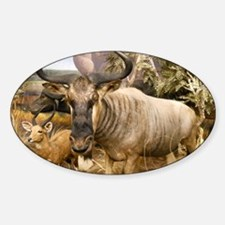Wildebeest In The Wild Decal