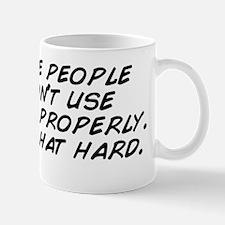 I dislike people who don't use gra Mug