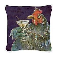 Martinis anyone? Woven Throw Pillow