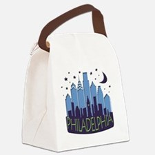 Philly Skyline Mega Cool Canvas Lunch Bag