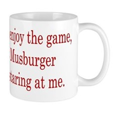 Trying to enjoy the game Mug