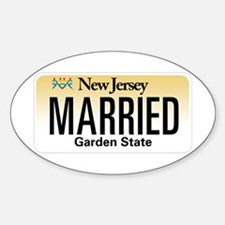 New Jersey Marriage Equality Decal