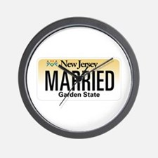 New Jersey Marriage Equality Wall Clock