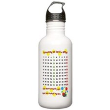 100th Day Seal Water Bottle