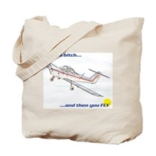 Fly! Tomahawk Tote Bag