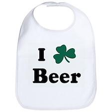 I Shamrock Beer Bib