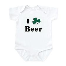 I Shamrock Beer Infant Bodysuit