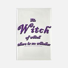 Witch of which Rectangle Magnet