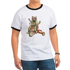 Raccoon Biker Gang T