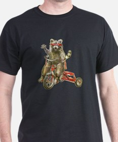 Raccoon Biker Gang T-Shirt