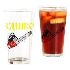 Sambo Chainsaw Drinking Glass