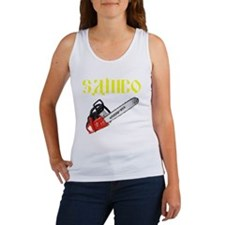 Sambo Chainsaw Women's Tank Top