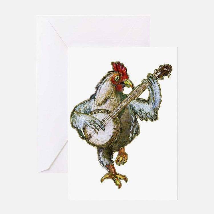 Bano Chicken Greeting Card