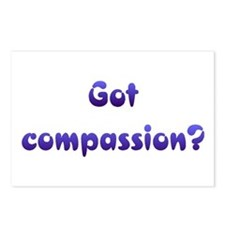Got Compassion Postcards (Package of 8)