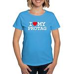 Protag Women's Caribbean Blue T-Shirt