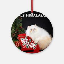 Himalayan Wall Calendar Round Ornament