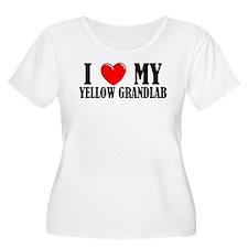 Yellow Grandlab T-Shirt