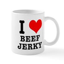 I Heart (Love) Beef Jerky Mug