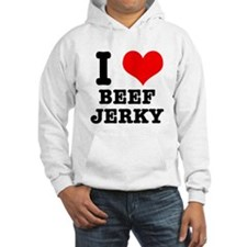 I Heart (Love) Beef Jerky Hoodie